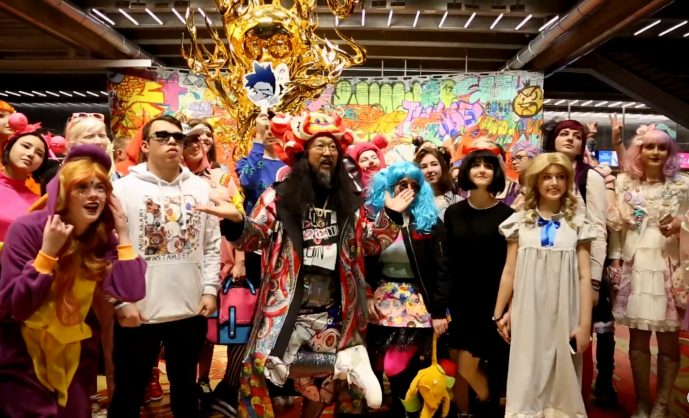 Как выглядит японский поп-арт от Такаси Мураками?