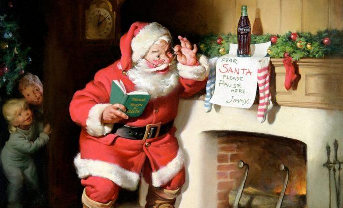 Рождественские открытки Нормана Роквелла
