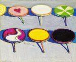Живопись | Уэйн Тибо | Seven Suckers, 1970