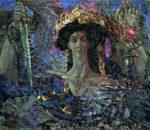 Живопись | Михаил Врубель | Шестикрылый серафим, 1904