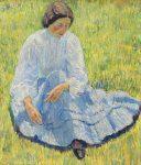 Живопись | Роберт Фальк | Лиза на солнце, 1907