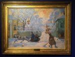 Живопись | Борис Кустодиев | Морозный день, 1913