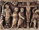 Скульптура Средневековья | Рельеф на саркофаге
