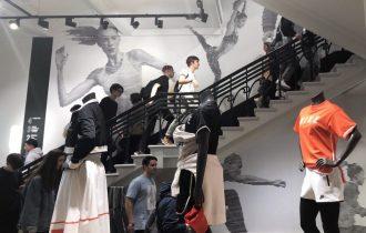 День рождения флагмана магазина Nike Moscow отметили 14 апреля