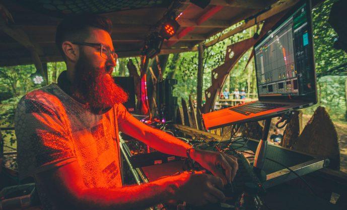 Slackbaba в Москве на Mystic Sound Birthday Party