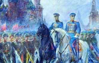 Евгений Иванович Антонов – Парад Победы