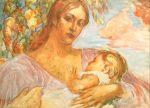 Живопись | Евгений Антонов | Мать и дитя, 1967