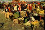 Живопись | Евгений Антонов | Преображенский рынок 1958