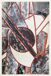 А. Зверев. Супрематическая композиция, 1958, бумага, гуашь