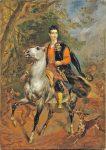 Живопись | Карл Брюллов | Керубино Корньенти. Портрет А. Н. Демидова на коне, 1852