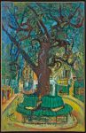 Живопись | Хаим Сутин | Маленькая городская площадь
