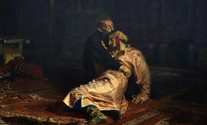 Кровь и картина. Илья Репин