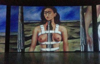 Всего-то несколько царапин! «Ожившие полотна» Фриды Кало в Люмьер-Холле