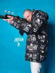 Дизайн | Laser B. | Oxxxymiron в пуховике «Hate»