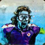 Стрит-арт | blub | Gabriele Batistuta