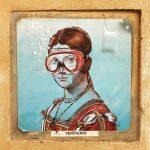 Стрит-арт | blub | Ritratto di Dame