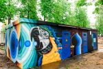 Граффити | ТП МОЭСК | Лужники | Jamin
