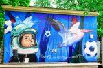 Граффити | ТП МОЭСК | Лужники | Karski en Beyond