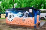 Граффити | ТП МОЭСК | Лужники | Vlad Nizmo