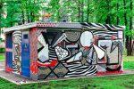 Граффити | ТП МОЭСК | Лужники | ChowMein