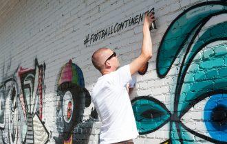 Арт-граффити проект «Футбольные континенты»