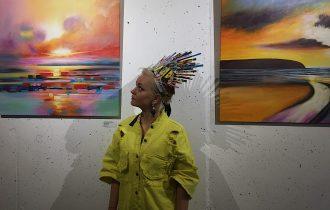 Мир глазами Светланы Бояркиной: дебютная персональная выставка в Москве