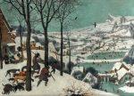 Живопись | Питер Брейгель Старший | Охотники на снегу