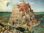 Живопись | Питер Брейгель Старший | Вавилонская башня