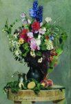 Живопись | Илья Репин | Букет цветов, 1878