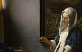 «Женщина, держащая весы» Яна Вермеера
