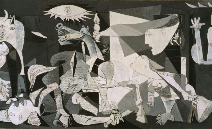 Антивоенная икона Пикассо