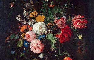 Цветочный натюрморт Яна де Хема: аллегория жизни и смерти