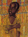 Живопись | Кузьма Петров-Водкин | Африканский мальчик