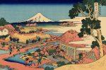 Гравюра | Кацусика Хокусай | Вид Фудзи от чайных плантаций Катакура в провинции Цуруга