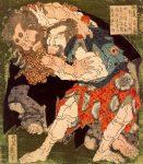Гравюра | Кацусика Хокусай | Сумо, 1806 год