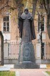 Скульптура | Алексей Леонов | Памятник преподобному священномученику Кукше Печерскому в Калуге. 2014, бронза, гранит