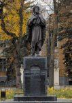 Скульптура | Алексей Леонов | Памятник святому праведному Лаврентию Калужскому. г. Калуга. 2015, бронза, гранит
