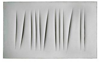Фонтаномания: почему художник, разрезающий и протыкающий свои работы, увлёк весь мир?