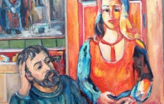 Художники и их музы в серии работ Андрея Аллахвердова