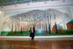 Живопись | Дэвид Хокни и его работа Высокие деревья близ Уортера